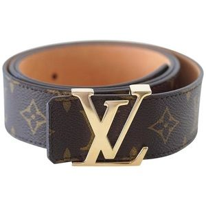 Louis Vuitton monogram belt authentic